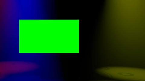 Plasma Spotlights Coloured Loop HD Stock Video Footage