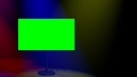 Plasma Spotlights Coloured Loop HD Animation