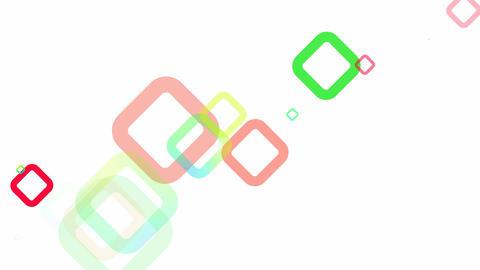 Random Squares Loop HD Stock Video Footage