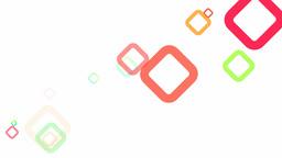 Random Squares Loop HD Animation