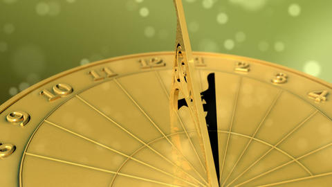 Sundial Through Day HD Stock Video Footage