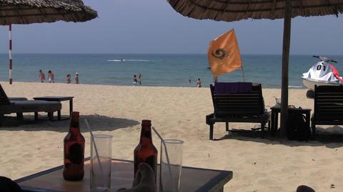 Vietnamese Beach Stock Video Footage