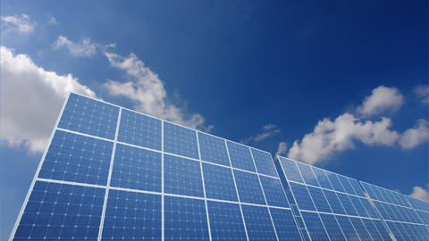 Solar Panel A1C HD Stock Video Footage