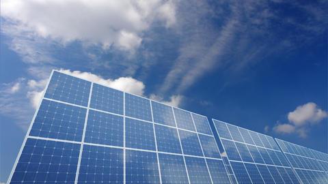 Solar Panel A1C HD Stock Video Footage
