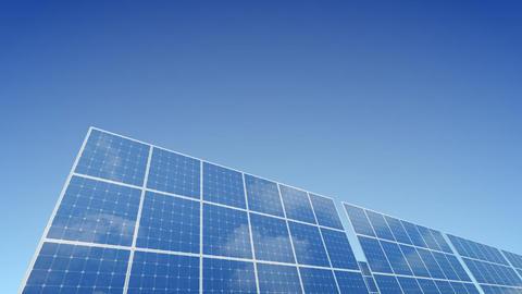 Solar Panel B1B HD Stock Video Footage