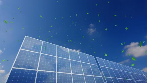 Solar Panel B1CG HD Animation