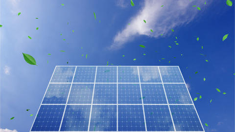 Solar Panel C1CG HD Animation