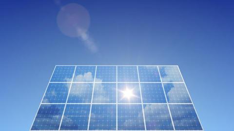 Solar Panel C1L HD Animation