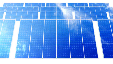 Solar Panel D1C HD Stock Video Footage