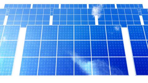 Solar Panel D1C HD Animation