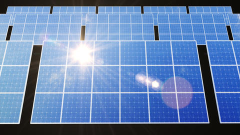 Solar Panel D1L HD Stock Video Footage