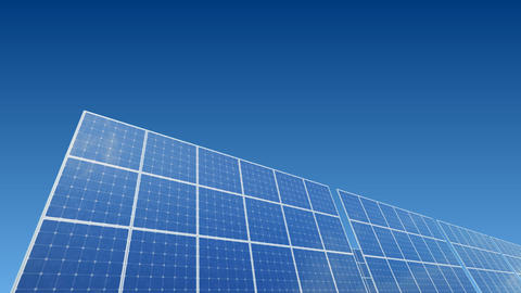 Solar Panel A1B HD Stock Video Footage