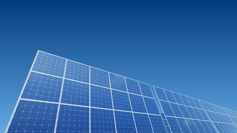 Solar Panel A1B HD Animation