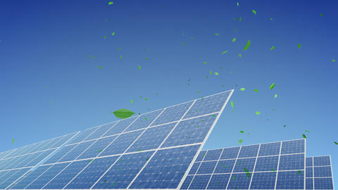 Solar Panel E1G HD Stock Video Footage