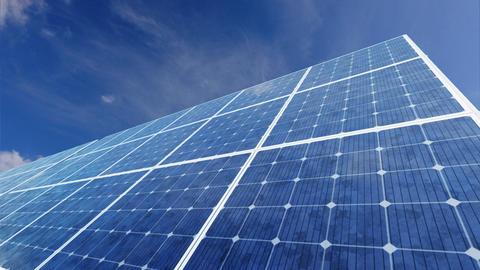 Solar Panel F1C HD Animation
