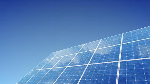 Solar Panel G1B HD Stock Video Footage