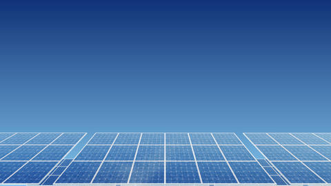 Solar Panel H1B HD Animation