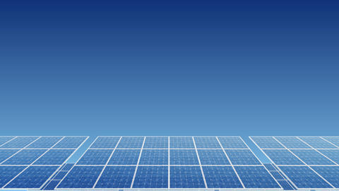 Solar Panel H1B HD Stock Video Footage