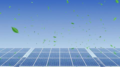Solar Panel H1G HD Animation