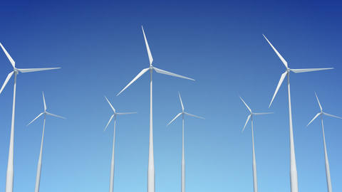 Wind Turbine A1W HD Stock Video Footage
