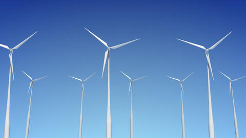 Wind Turbine A1W HD Animation