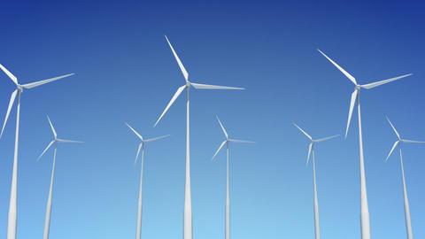 Wind Turbine A1W HD Stock Video Footage
