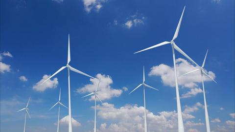Wind Turbine B1CW HD Stock Video Footage