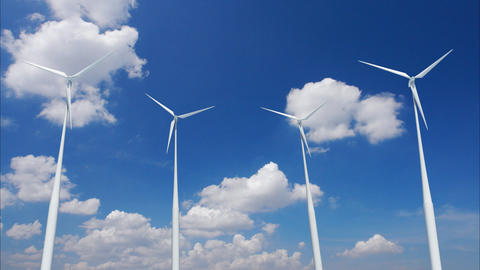 Wind Turbine C1CW HD Animation