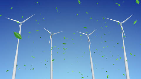 Wind Turbine C1WG HD Animation