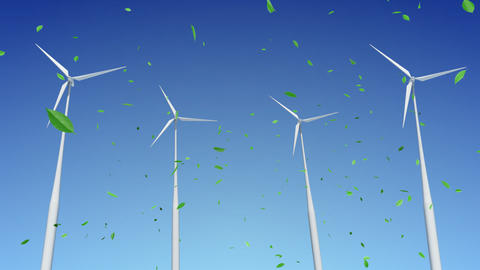 Wind Turbine C1WG HD Stock Video Footage
