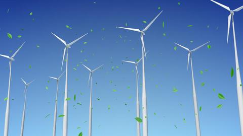 Wind Turbine E1W HD Animation