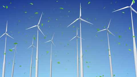 Wind Turbine E1W HD Stock Video Footage