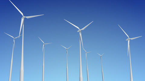 Wind Turbine G1W HD Animation