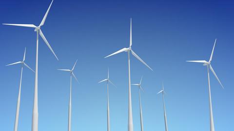 Wind Turbine G1W HD Stock Video Footage
