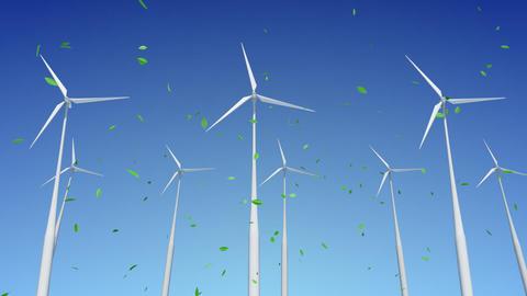 Wind Turbine H1WG HD Stock Video Footage