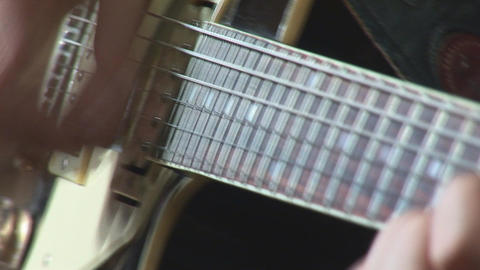 guitare 10 Stock Video Footage
