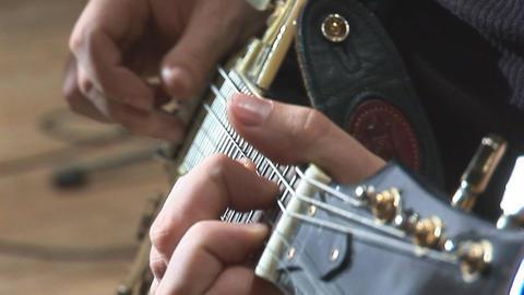 guitare 12 Stock Video Footage