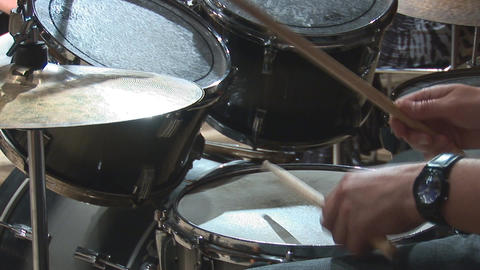 drums 2 Stock Video Footage