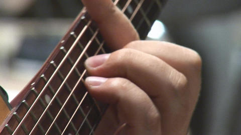 guitare 16 Stock Video Footage