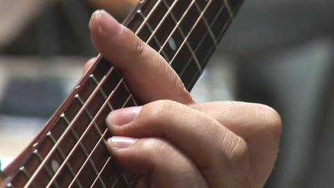 guitare 16 Stock Video Footage