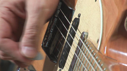 guitare 20 Stock Video Footage