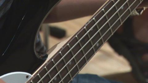 guitare 22 Stock Video Footage