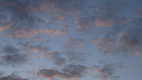 Clouds at sunset time-lapse 2 Stock Video Footage