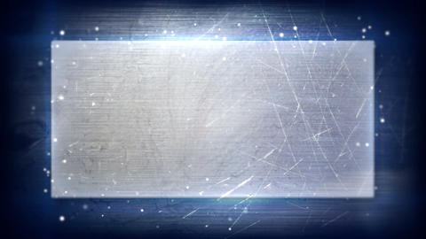 metal plate and backlight loopable background Animation