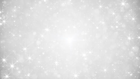 glittering silver dust loopable festive background Animation