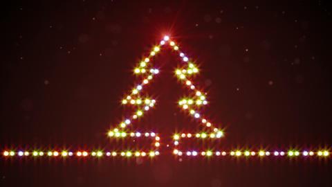 Heart Shape Christmas Lights Loop Background Stock Animation 4888658 - Christmas Tree Shaped Lights