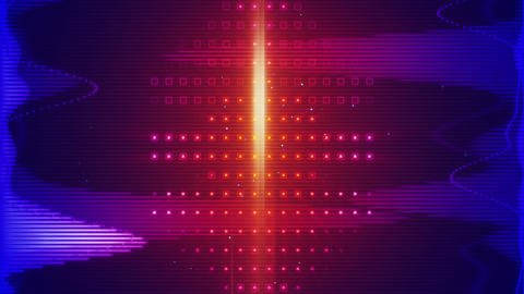 equalizer audio waveform loopable background Animation