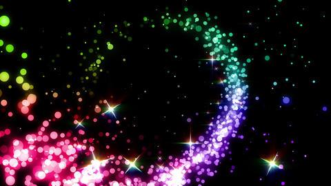 Particles Glitter 3b R 4 4k CG動画