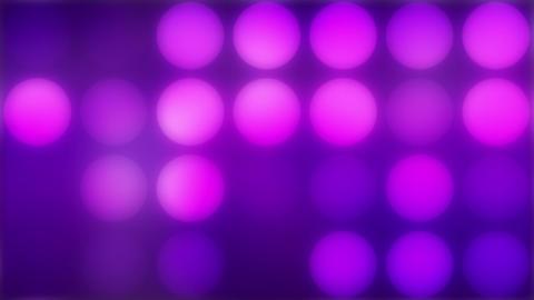 Glowing lights, loop Animation