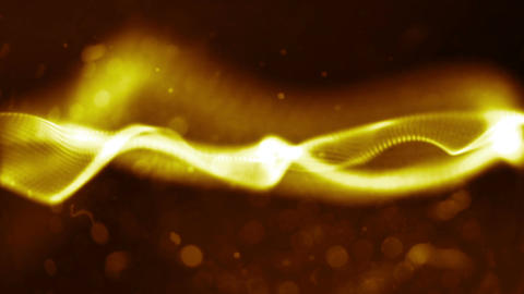 abstract c gold Animation